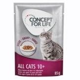 Concept for Life All Cats 10+ - in Soße - 12 x 85 g