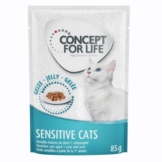 Concept for Life Sensitive Cats - in Gelee - 12 x 85 g