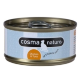 Cosma Nature, Hühnerbrust & Thunfisch - 6 x 70 g