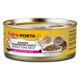 Feline Porta 21, Thunfisch mit Aloe - 6 x 156 g