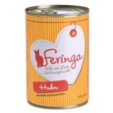 Feringa Fleisch-Menü, Huhn mit Kürbis & Katzenminze - 6 x 400 g