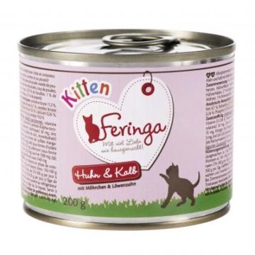 Feringa Kitten Starter-Paket + Snack - 8-teiliges Set