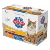 Hill`s Feline Adult Urinary & Hairball Control, Huhn & Seefisch - 12 x 85 g