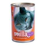 Probierpaket Smilla Fischtöpfchen 400 g - 6 x 400 g (4 Sorten gemischt)