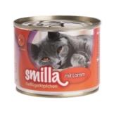 Smilla Geflügeltöpfchen, zartes Geflügel mit Lamm - 6 x 200 g