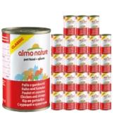 Almo Nature Classic Katzenfutter 24x140g - Huhn & Garnelen