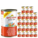 Almo Nature Classic Katzenfutter 24x140g - Huhn & Kurbis