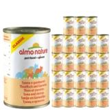 Almo Nature Classic Katzenfutter 24x140g - Thunfisch & Garnelen
