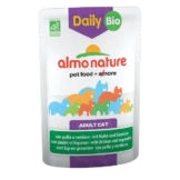 Almo Nature Daily Menu BIO Cat mit Huhn und Gemüse - 30x70g
