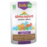 Almo Nature Daily Menu BIO Cat mit Kalb und Gemüse - 30x70g
