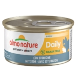 Almo Nature Daily Menu Cat Mousse mit Stör - 24x85g