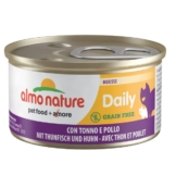 Almo Nature Daily Menu Cat Mousse mit Thunfisch und Huhn - 24x85g