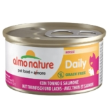 Almo Nature Daily Menu Cat Mousse mit Thunfisch und Lachs - 24x85g