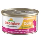 Almo Nature Daily Menu Cat Mousse mit Thunfisch und Lachs - 24x85g
