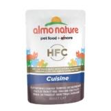 Almo Nature HFC Cuisine pouch Thunfisch und Seezungenfilet - 55g
