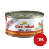 Almo Nature Katzenfutter Legend Lachs mit Karotte - 70g