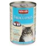 Animonda Katzenfutter Brocconis Seelachs und Huhn - 24x400g