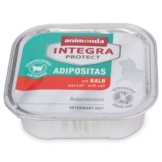 Animonda Katzenfutter Integra Protect Adipositas mit Kalb - 16x100g