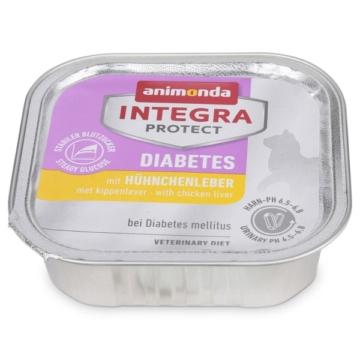Animonda Katzenfutter Integra Protect Diabetes mit Hühnchenleber - 32x100g