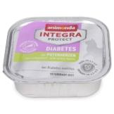 Animonda Katzenfutter Integra Protect Diabetes mit Putenherzen - 32x100g