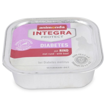 Animonda Katzenfutter Integra Protect Diabetes mit Rind - 32x100g