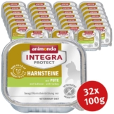 Animonda Katzenfutter Integra Protect Harnsteine mit Pute - 32x100g