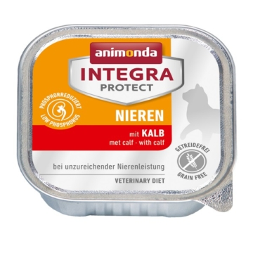 Animonda Katzenfutter Integra Protect Nieren mit Kalb - 32x100g