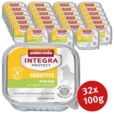 Animonda Katzenfutter Integra Protect Sensitive Pute pur - 32x100g