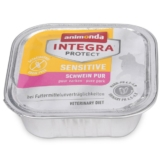Animonda Katzenfutter Integra Protect Sensitive Schwein pur - 32x100g