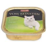 Animonda Katzenfutter Vom Feinsten für kastrierte Katzen Pute pur 100g - 16x100g