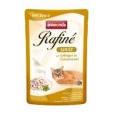 Animonda Rafiné Adult mit Geflügel in Cremesauce - 100g