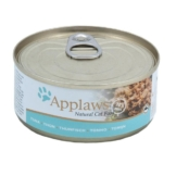 Applaws Cat glutenfreies Thunfischfilets - 24x70g