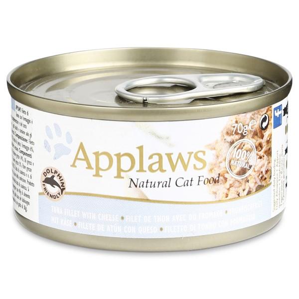 applaws cat thunfischfilets k se 24x70g preisvergleich. Black Bedroom Furniture Sets. Home Design Ideas
