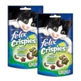 Felix Crispies 2er Pack - mit Fleisch & Gemüse