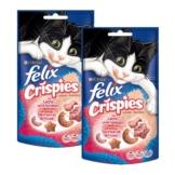 Felix Crispies 2er Pack - mit Lachs & Forelle