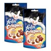 Felix Crispies 2er Pack - mit Rind & Huhn