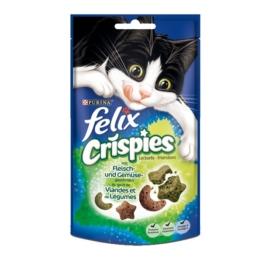Felix Katzensnack Crispies - mit Fleisch & Gemüse