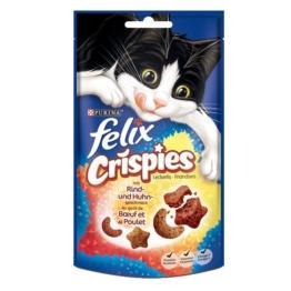 Felix Katzensnack Crispies - mit Rind & Huhn