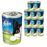 Felix Leckerbissen in Soße 24x400g - mit Kaninchen & Huhn