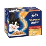 Felix Sensations Crunchy Crumbles 10er Pack - Fleisch Mix
