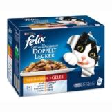 Felix So gut wie es aussieht Doppelt lecker Fleisch Mix12x100g - 1 Stück