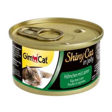 GimCat ShinyCat Hühnchen & Lamm - 24x70g