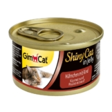 GimCat ShinyCat Hühnchen & Rind - 24x70g