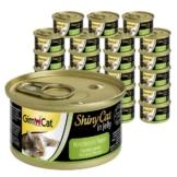 GimCat ShinyCat in Jelly 24x70g - Hühnchen mit Papaya