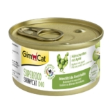 GimCat Superfood ShinyCat Duo Hühnchenfilet mit Äpfeln - 24x70g