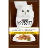 Gourmet A la Carte 24x85g - Huhn garniert mit Pasta-Perlen