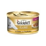 Gourmet Gold Feine Komposition Ente & Truthahn - 24x85g