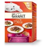 Gourmet Katzenfutter Mon Petit Duetti Fleisch Multipack - 24x50g