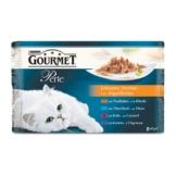 Gourmet Perle 4er Multipack Truthahn, Ente, Lamm, Thunfisch - 3x4