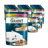Gourmet Perle Duetto di Carne 24x85g - Kalb & Ente